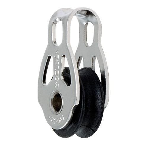 plain bearing block / single / with fixed head / max. rope ø 6 mm