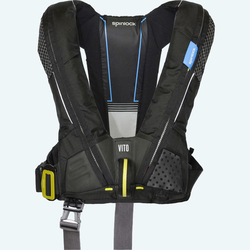 self-inflating life jacket / 275 N / 170 N / with safety harness