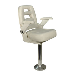 helm seat / for boats / with armrests / 1-person