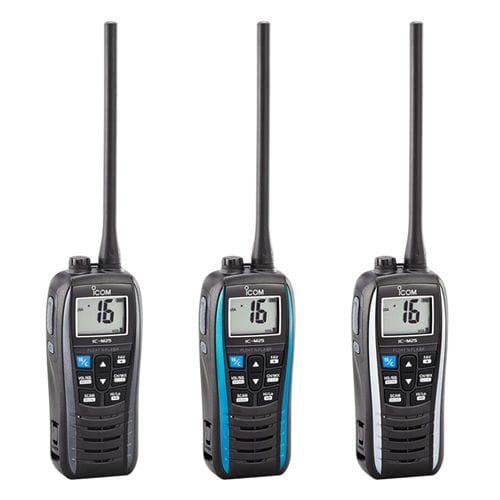 boat radio / portable / VHF / IPX7