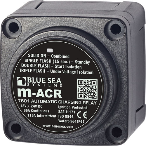 Power relay / for boat electrical circuits - M-ACR series - Blue Sea