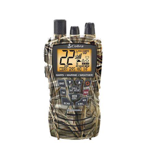 boat radio / portable / VHF / GMRS