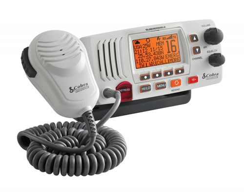 boat radio / fixed / VHF / IPX8