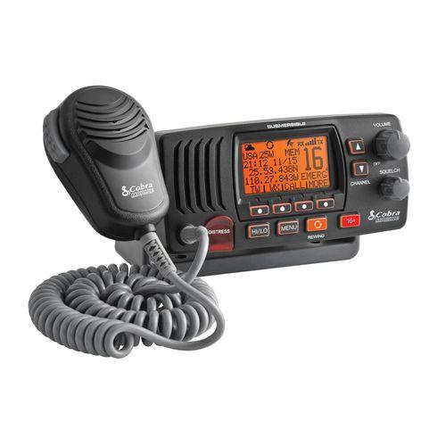 boat radio / fixed / VHF / IPX8