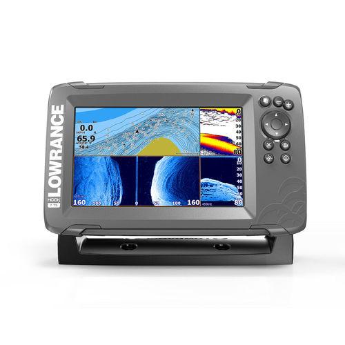 chart plotter / fishfinder / sonar / GPS