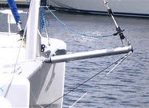 sailboat bowsprit / for downwind sails