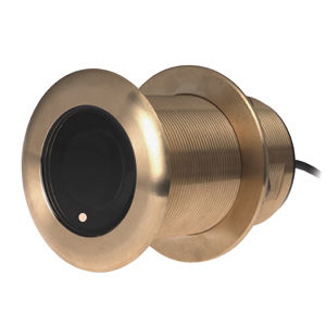 temperature sensor / depth / for boats / tilted through-hull