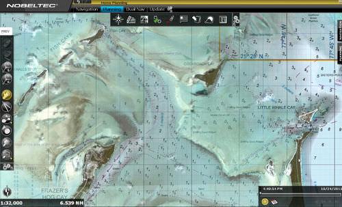 navigation software / weather / for ships