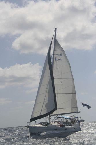 sailboat boom / furling