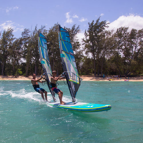 All Around Sup Tandem Air Premium Fanatic Windsurf Inflatable For 6 To 8 Persons