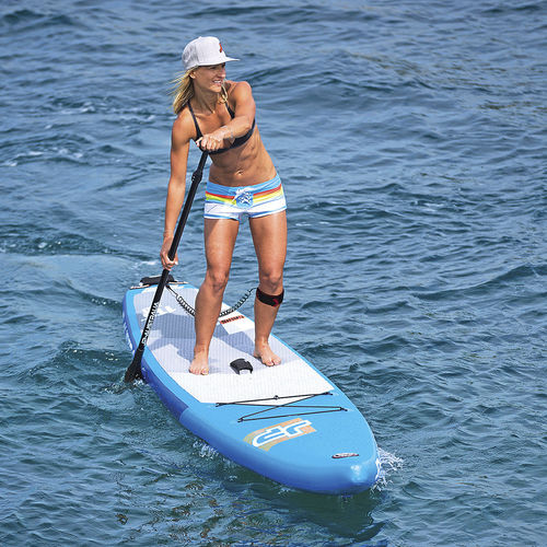 touring SUP / windsurf / inflatable / PVC