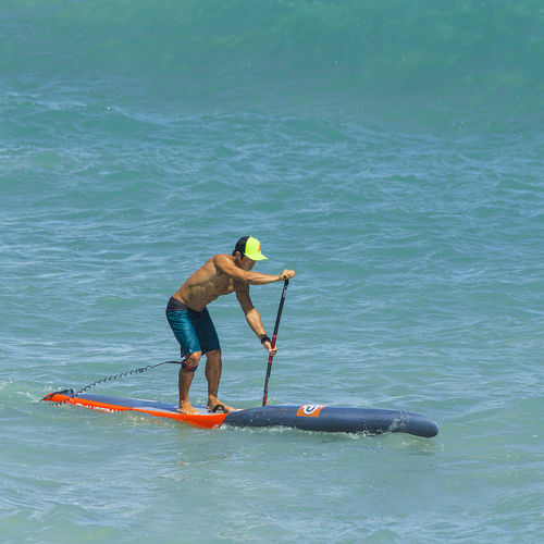 racing SUP / flatwater / wooden / carbon