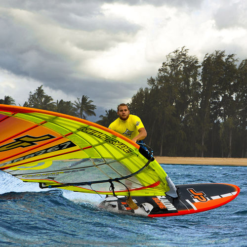 slalom windsurf board