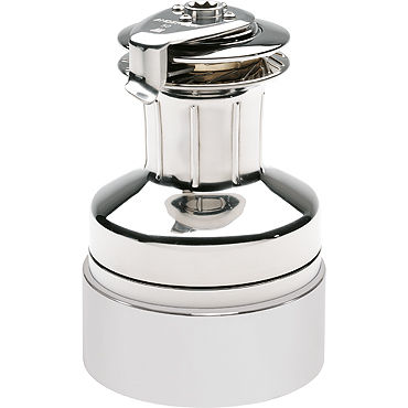 self-tailing sailboat winch / electric / 2-speed / stainless steel
