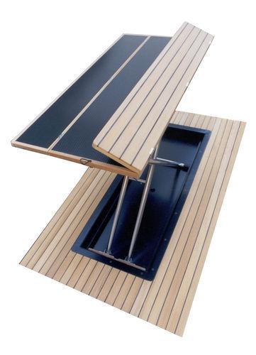 fold-away cockpit table