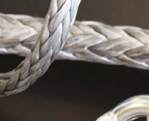 halyard / tight braid / for racing sailboats / Dyneema® core