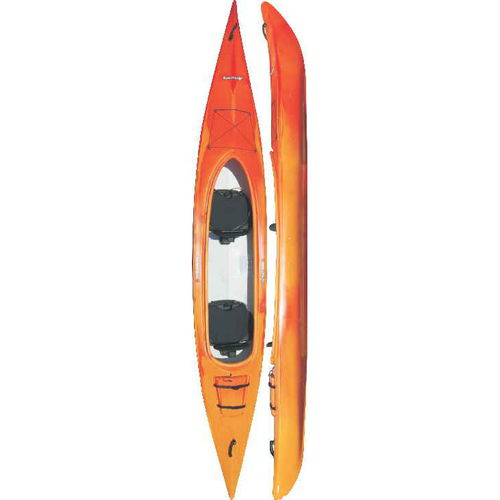 rigid kayak / sea / recreational / touring