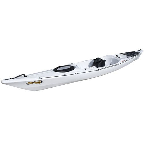 sit-on-top kayak / rigid / sea / touring