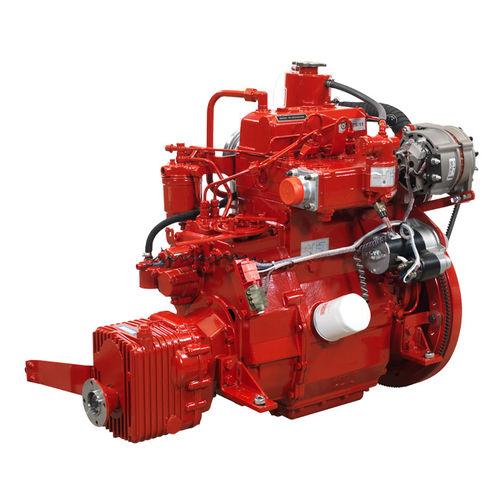 inboard engine / professional vessel / diesel / mechanical fuel injection
