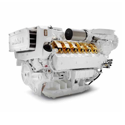 boating engine / inboard / diesel / turbocharged