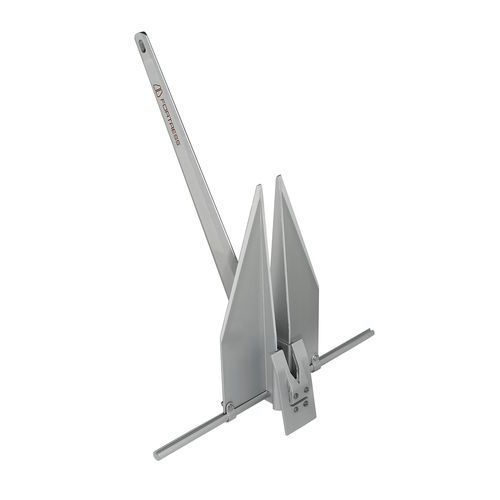 Fortress anchor / for boats / aluminum