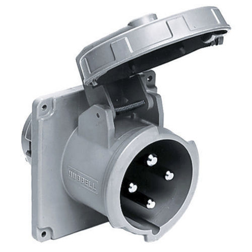 boat watertight electrical plug / male