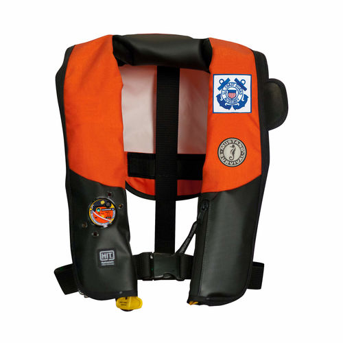 self-inflating life jacket / 170 N / professional