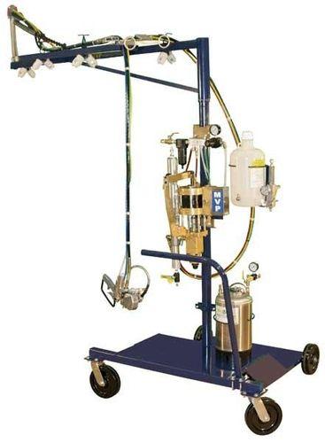 simultaneous spraying machine / shipyard