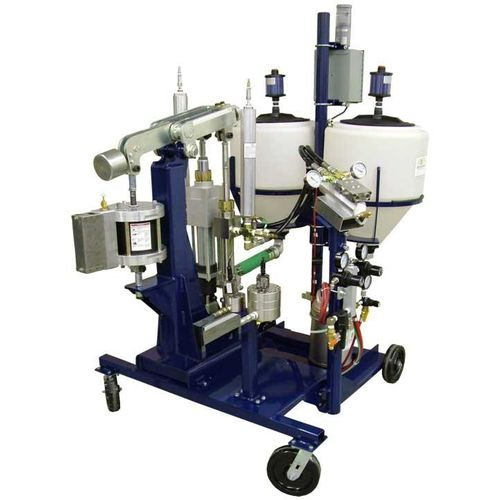two-component spraying proportioner / shipyard