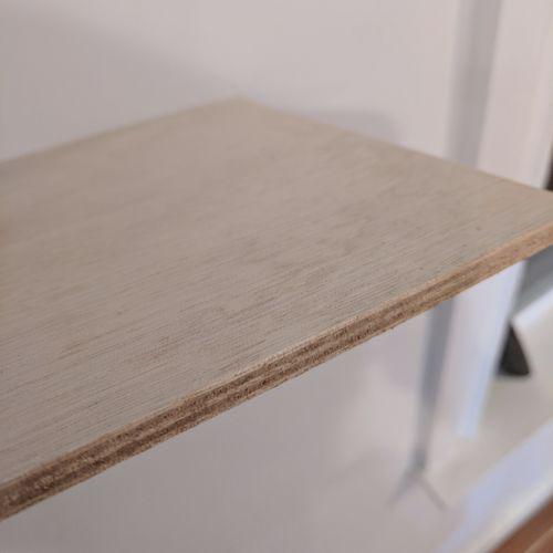 decorative panel / for ship partition walls / plywood / okoumé