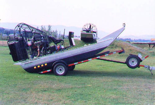road trailer / airboat