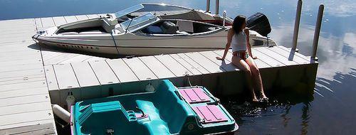 modular dock / floating / mooring / for marinas