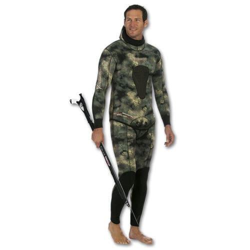 spearfishing suit / freediving / wetsuit / long-sleeve