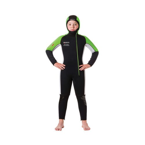 dive wetsuit / sleeveless / hooded / with hood