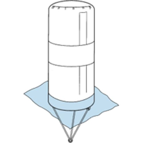 inflatable buoy / for regattas / special mark / cylindrical