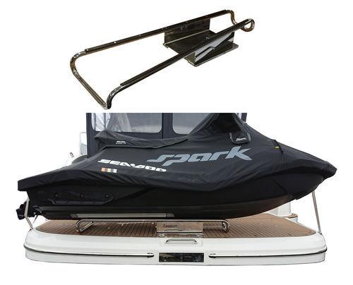 dinghy davit / for yachts / manual / rotating