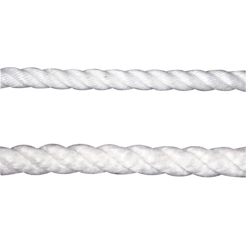 multipurpose cordage / single braid / for sailboats / polyester core