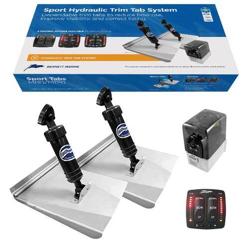 hydraulic trim tab