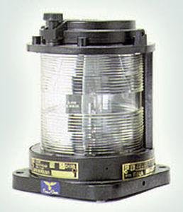 ship navigation light / incandescent / green / <50 m