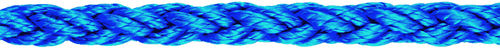 mooring cordage / laid / for sailboats / polypropylene core