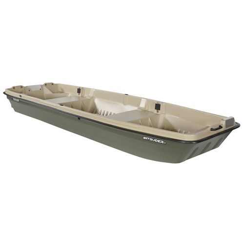 outboard jon boat / for fishing / 2-person max.