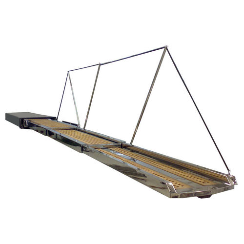 boat gangway / telescopic / retractable / hydraulic