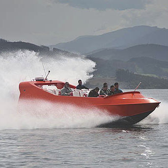 sightseeing boat / inboard waterjet