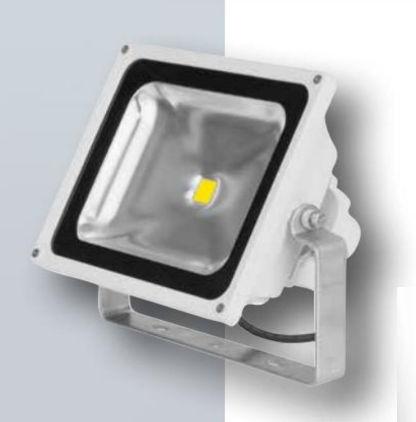 exterior floodlight / for boats / LED / adjustable