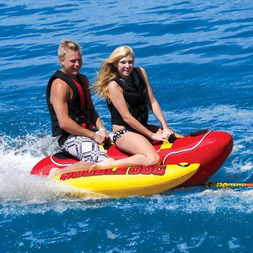 2-person max. towed banana buoy / double
