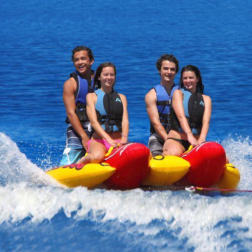 4-person max. towed banana buoy / double