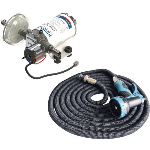 boat deck washdown kit with pump