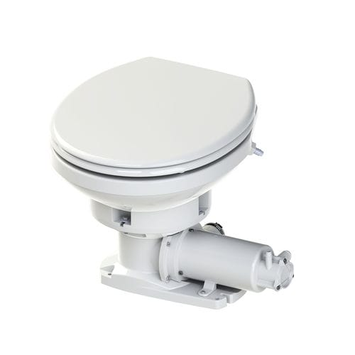 marine toilet / electric / with macerator