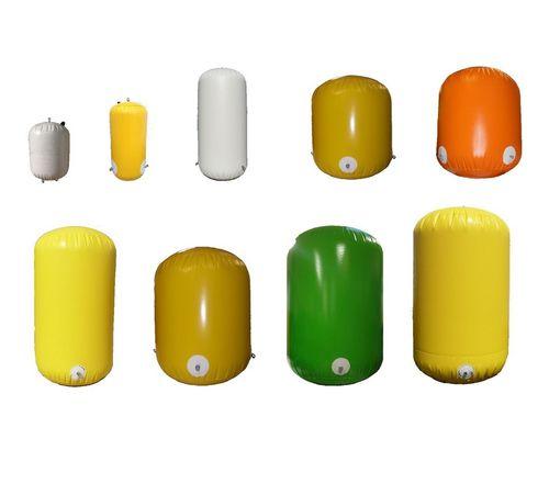 regatta buoy / high seas / cylindrical / PVC