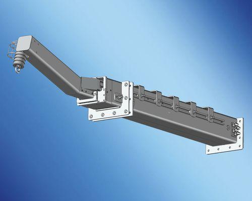 boat davit / for yachts / hydraulic / telescopic